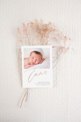 geboortekaartjes op maat StudioNiM